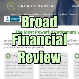 Broad Financial Review