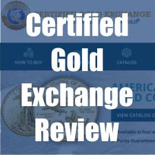 Certified Gold Exchange Review