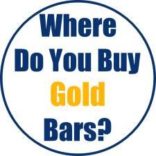Where Do You Buy Gold Bars?